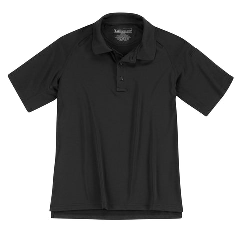 Performance Polo - Women's Short Sleeve, Polyester in Black