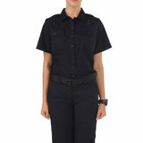 Women's A Class Taclite PDU Short Sleeve Shirt in Midnight Navy