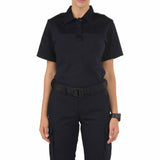 Women's S/S PDU Rapid Shirt in Midnight Navy