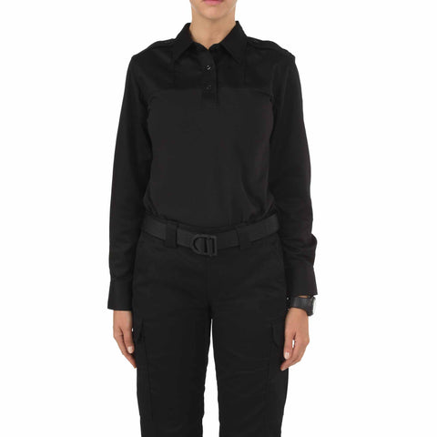 Women's L/S PDU Rapid Shirt in Black