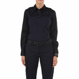 Women's L/S PDU Rapid Shirt in Midnight Navy