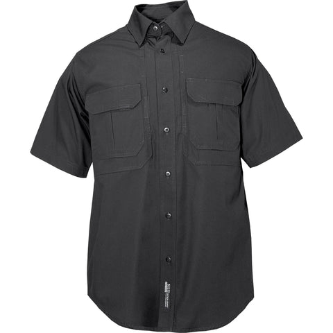5.11 Tactical Shirt - Short Sleeve, Cotton in Black