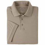 Men's S/S Tactical Polo - Jersey in Silver Tan