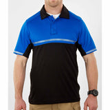 Bike Patrol Polo - Short Sleeve in Royal Blue