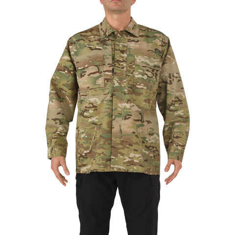 MultiCam TDU Shirt - Long Sleeve, Ripstop in MULTICAM
