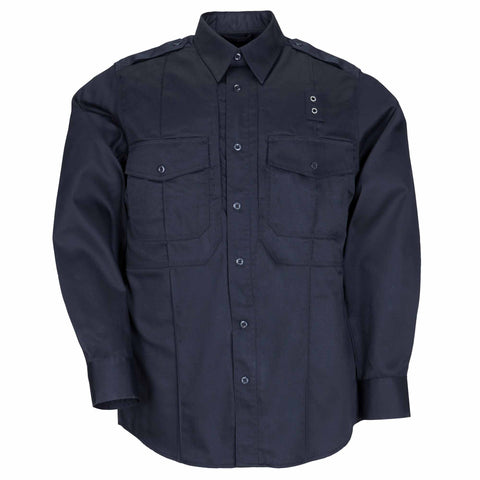 Men's B Class Taclite PDU Long Sleeve Shirt in Midnight Navy