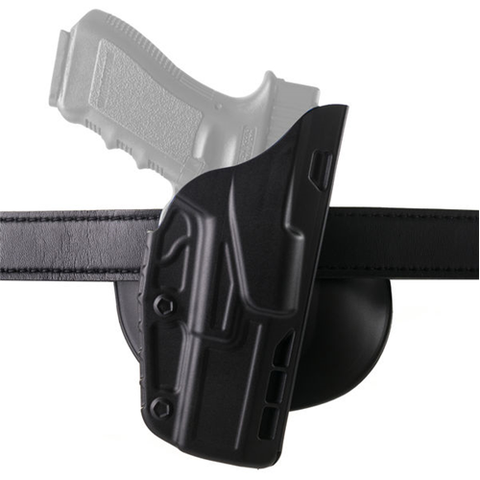 SAFARILAND 7378 ALS Open Top Concealment Paddle Holster For G26-LH Black -7378-183-412