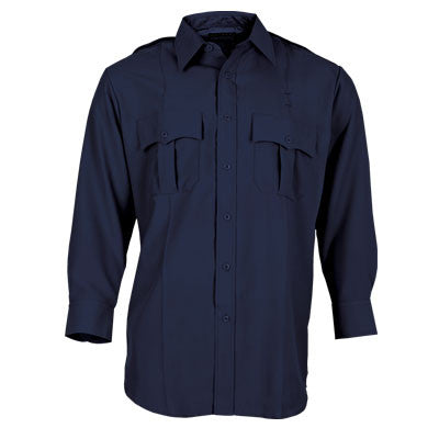 Tact Squad Woman's Long Sleeve Poly/Cotton Shirt -Navy -8003NW