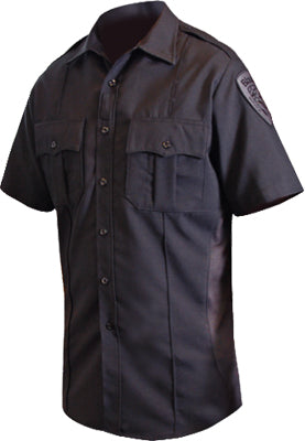 Blauer Men's Polyester Short Sleeve Supershirt- Style 8675
