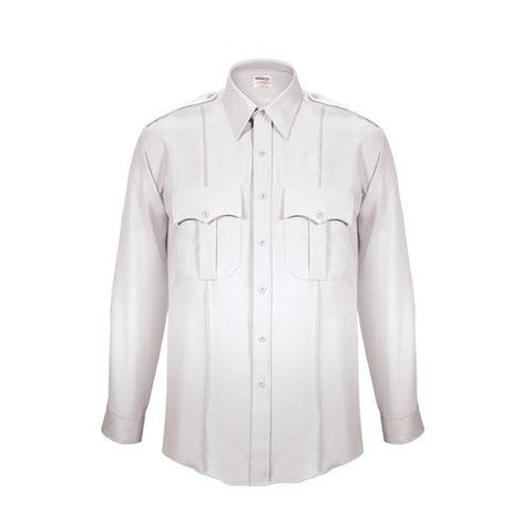 Elbeco Men's TexTrop2 Long Sleeve Shirt- White Style ELB-310N