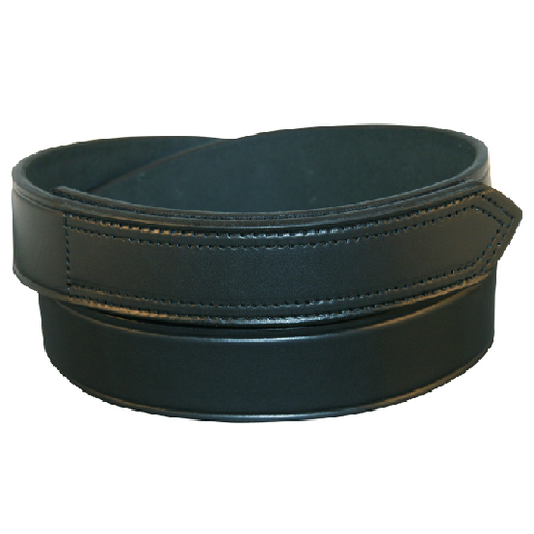Boston Leather 1 1/2 Hook And Loop Tipped Belt Basketweave- Style 6530