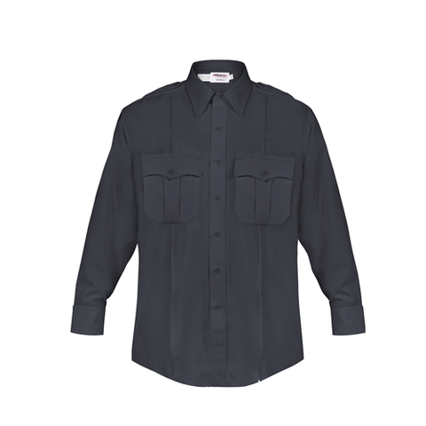 Elbeco DutyMaxx Navy Men's Long Sleeve Shirt- ELB-584D
