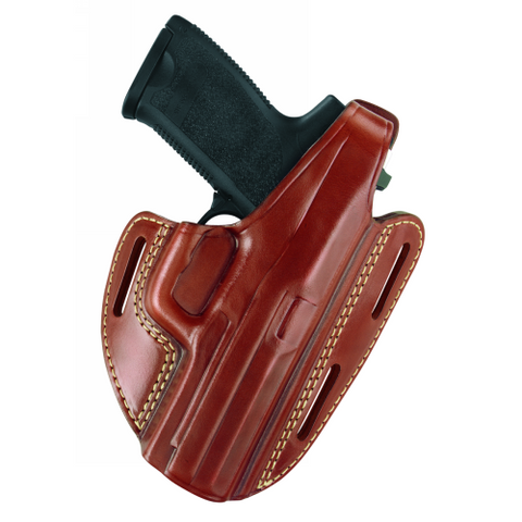 GOULD & GOODRICH THREE SLOT PANCAKE HOLSTER-Style GG-803-G20
