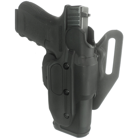 GOULD & GOODRICH X-Calibur Holster No Light RH For G17 or G19 Basketweave - GG-X1000-17W
