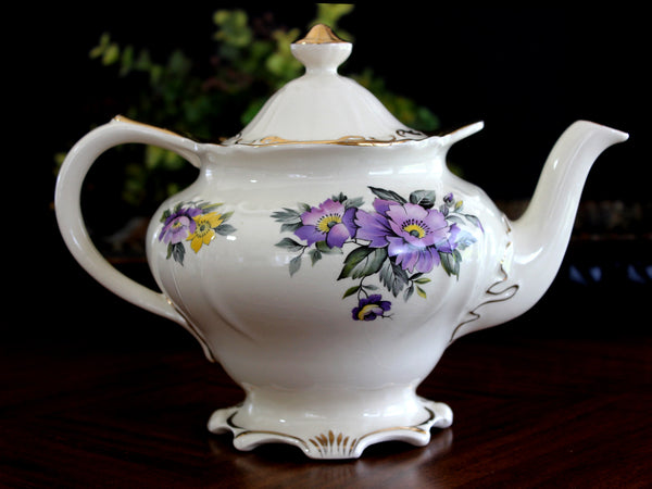 Sadler Teapot, 4 Cup Sadler Porcelain Tea Pot, 14072
