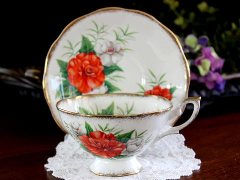 Teacup and Saucer, Royal Standard, Radiance Rose Tea Cup 14101