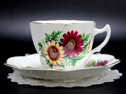 Bone China Teacup, Tea Cup and Saucer 14224