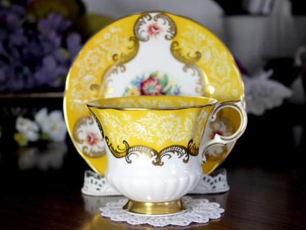 Paragon Trenton, Teacup and Saucer, English Bone China Tea Cup 14775