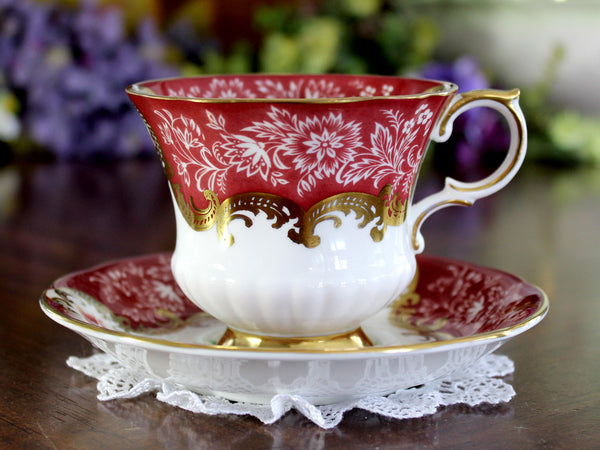 Paragon Trenton, Teacup and Saucer, English Bone China Tea Cup 14877