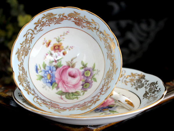 EB Foley, Cup and Saucer, Vintage Bone China Teacup, Vintage Teacups 15480 - The Vintage Teacup