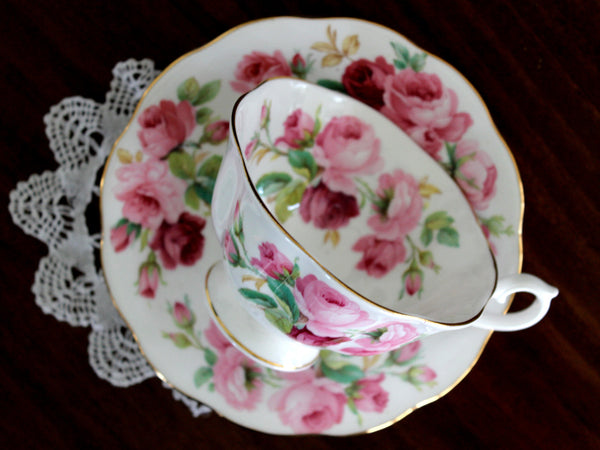 Royal Albert Cup & Saucer, Princess Anne, Vintage Tea Cups, Bone China 15481