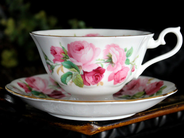 Royal Albert Cup & Saucer, Princess Anne, Vintage Tea Cups, Bone China 15481 - The Vintage Teacup