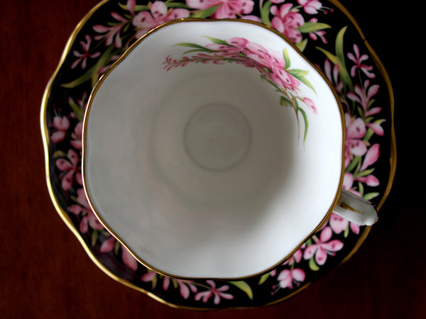Royal Albert, Fireweed, Floral Teacup and Saucer, Provincial Flowers Series 15576 - The Vintage Teacup