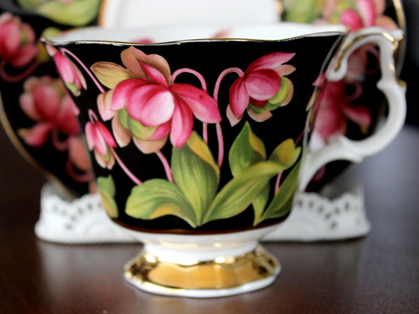 Royal Albert, Pitcher Plant, Floral Teacup and Saucer, Provincial Flowers Series 15638 - The Vintage Teacup