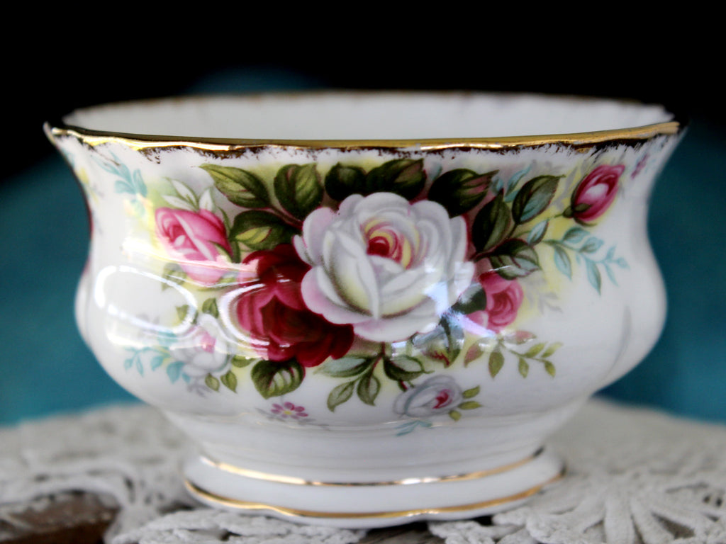 Royal Albert Celebration, Sugar Bowl 15897 - The Vintage Teacup