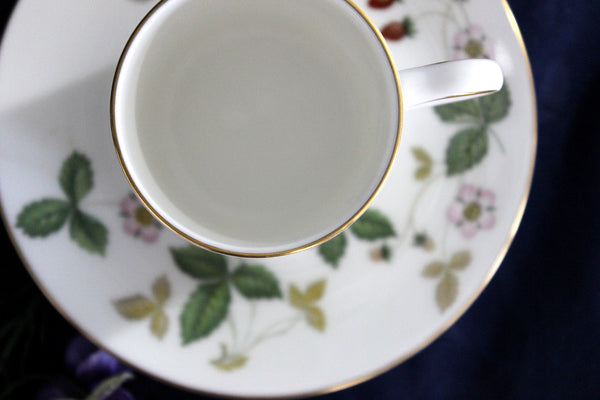 Demitasse Teacup, Tea Cup & Saucer - Wedgwood Wild Strawberry 16023