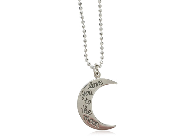 To the Moon & Back... ( 2 piece necklace set) - shopbanglejangle  - 2