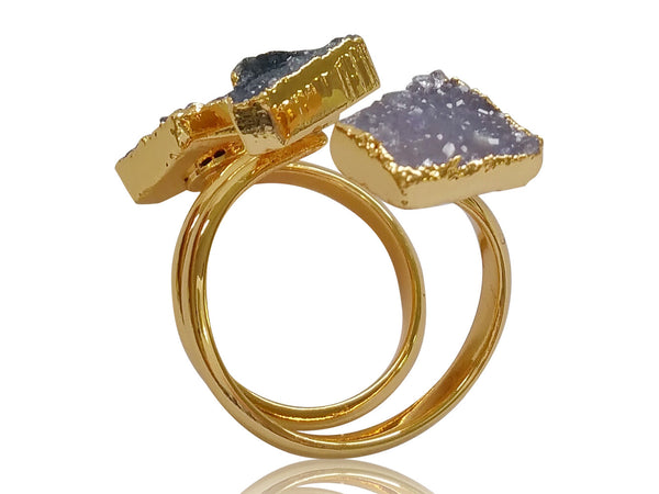 Darling Druzy Ring - shopbanglejangle  - 3