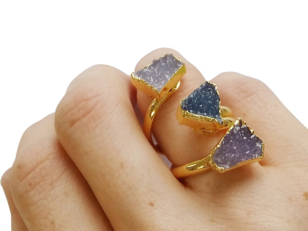 Darling Druzy Ring - shopbanglejangle  - 5