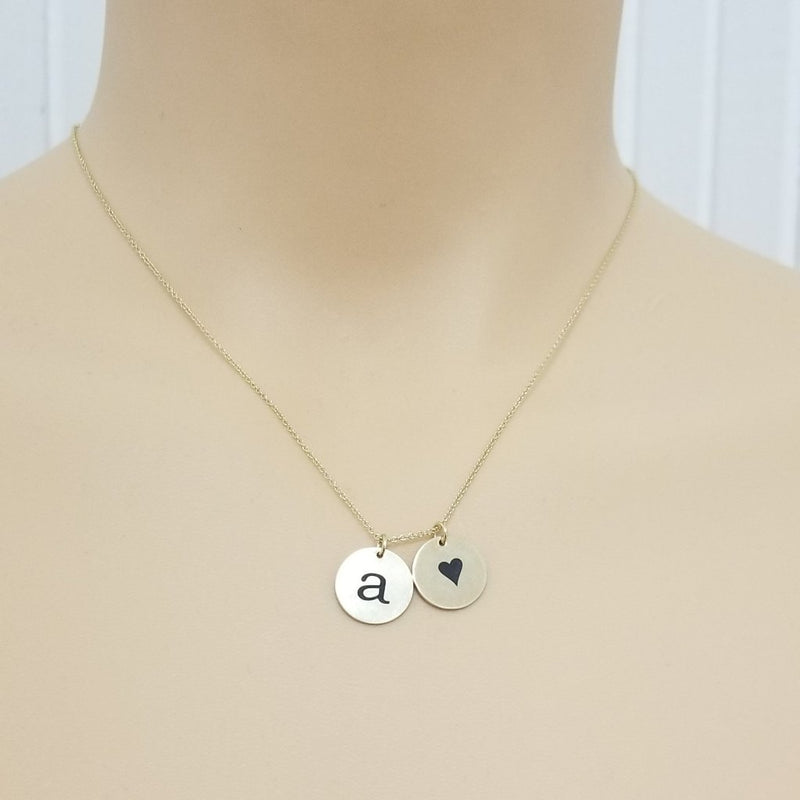 Small Disc Necklace (13mm)