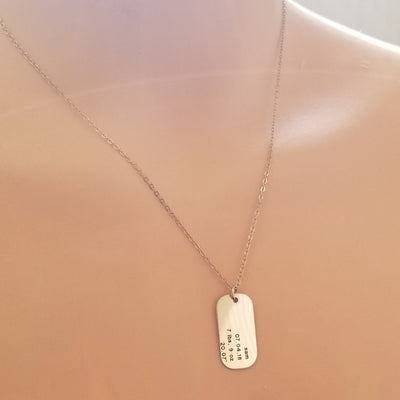 Birth Detail Necklace (Personalize Me!)