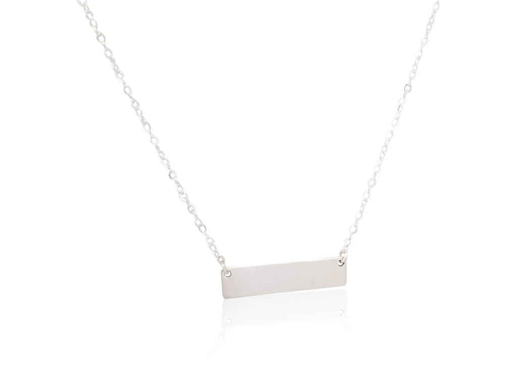 Mini Bar Necklace (customizable)