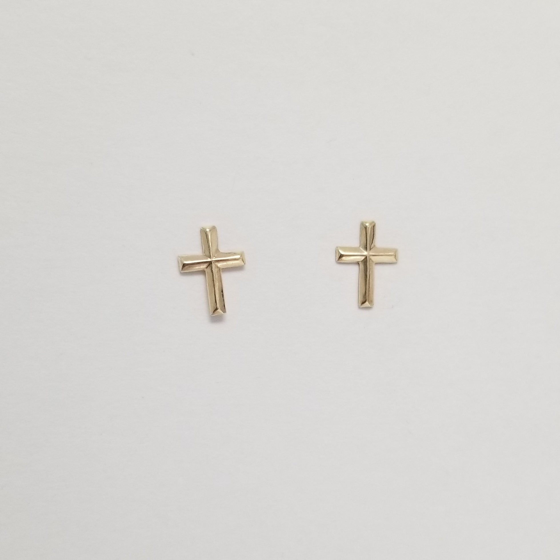 Faith Cross Earrings | Gold-Filled