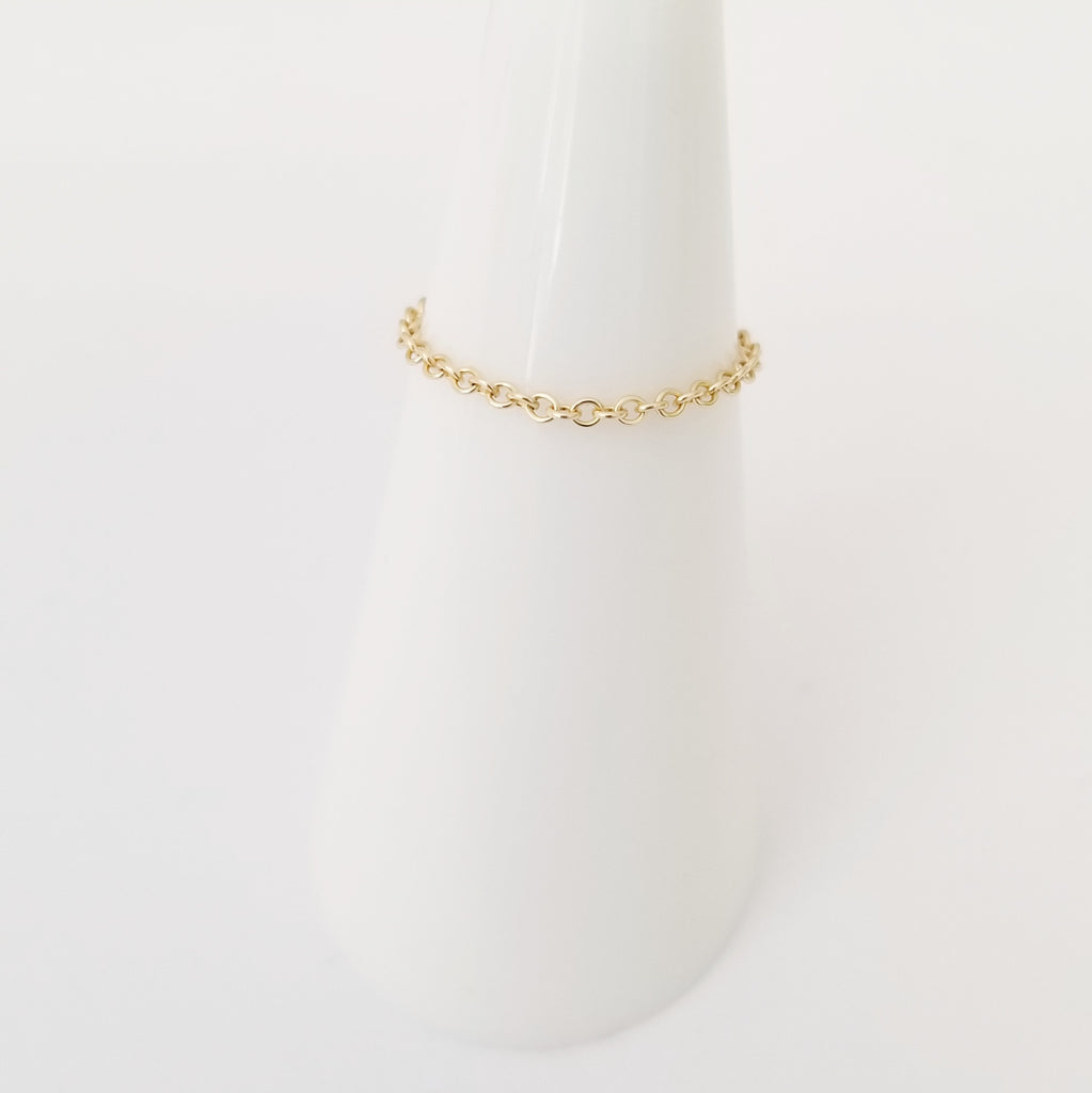 Style F | Chain Ringlet™ (solid 14K Gold)