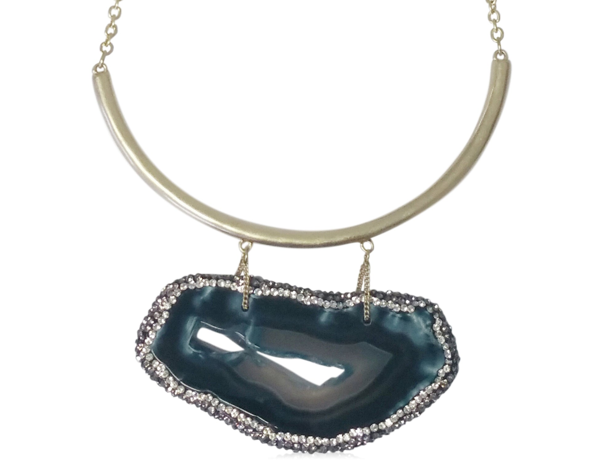 Brielle Agate Necklace