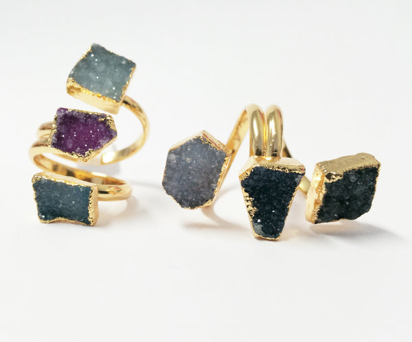 Darling Druzy Ring