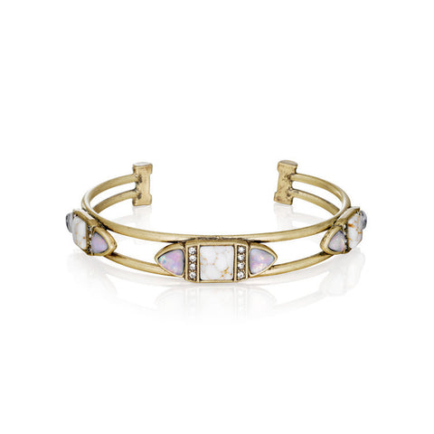 Capri Cuff Bracelet - shopbanglejangle  - 1