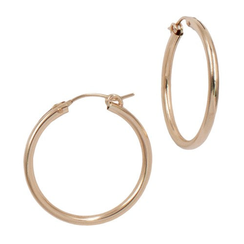 Annabelle Hoop Earrings | Gold-Filled