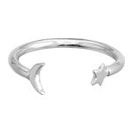 Star & Moon Ring - shopbanglejangle