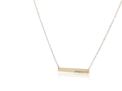 Classic Bar Necklace (Customizable)