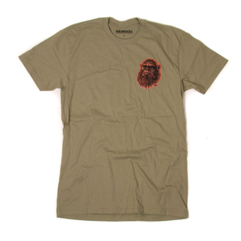 The Beast Tee (Olive/Black-Orange)