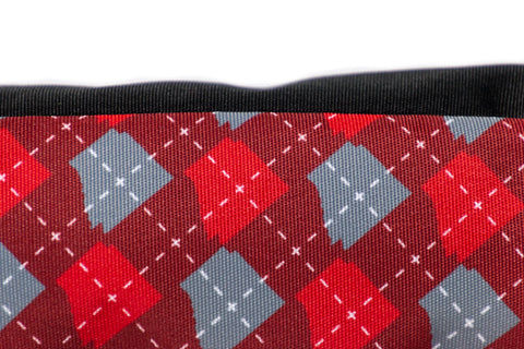 ARgyle State of Mind Pencil Case (Team Red/Ash Grey)