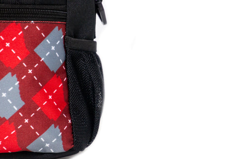ARgyle State of Mind Lunch Box (Team Red/Ash Grey)