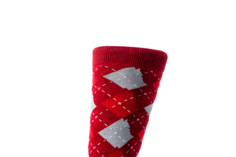 ARgyle State Of Mind (Varsity Red/Ash Grey)
