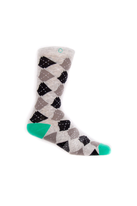 ARgyle State Of Mind (Ash Heather/Teal)