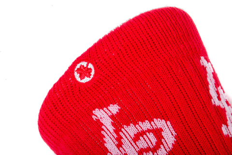 Inner City Sock (Red/White)
